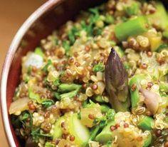ezra's herbed quinoa risotto from Julie Daniluk