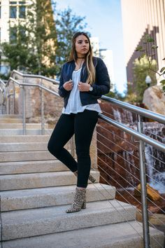 city creek center, utah fashion blogger, fashion blogger, bomber jacket, choker necklace | www.lauryncakes.com @sedonaeast325 @paige @freepeople