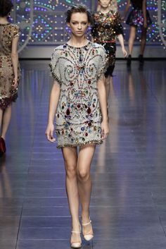 Dolce & Gabbana Spring/Summer 2012, MILAN Fashion Week