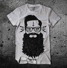 Stay Dope Men's Graphic Beard T-Shirt - Awesome T-Shirts at Rumplo ($1-20) - Svpply
