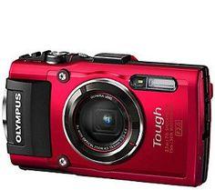 Olympus Tough TG-4 16MP Waterproof Compact Digital Camera
