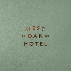 Hotel Logo, Restaurant Logo, Hotel Branding, Logo Branding, Branding Agency, Corporate Branding, Art Deco Typography, Lettering, Typography Design