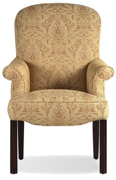 Fine Upholstered Accents Mccullum Chippendale Arm Chair    by Jessica Charles