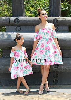de vestido vestidos que empareja de la hija de madre mamá y