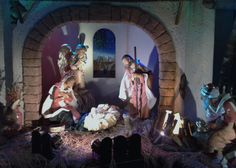 Life-Sized Nativity at UALC. #Fontanini #Lifesizenativity