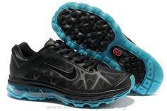 Authentic Womens 429890-040 Nike Air Max 2011 Black Neo Turquois