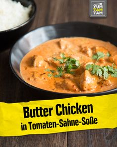 Butter Chicken in Tomaten-Sahne-Soße Do you love Indian cuisine as much as we do? Shahi Paneer Recipe, Paneer Recipes, Indian Food Recipes, Healthy Recipes, Ethnic Recipes, Indian Butter Chicken, Food Videos, The Best, Chicken Recipes