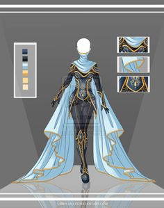 Adoptable Outfit Auction 36(closed) by LaminaNati on @DeviantArt