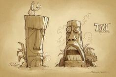 Tiki Art -