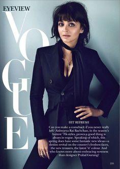 Aishwarya Rai - Vogue India March 2015