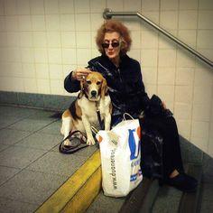 The Woman and the Beagle | By antonkawasaki