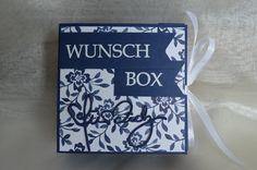 Wunschbox: Anleitung und Stempelset Charlie&Paulchen, Cardstock und Designpapier SU