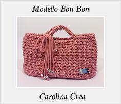 Modello Bon Bon Cordino Intreccio  Facebook Carolina Danelutti Crea  www.carolinacrea.it