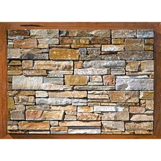 Stone walls stones and wood stone on pinterest - Plaquette de parement adhesive ...