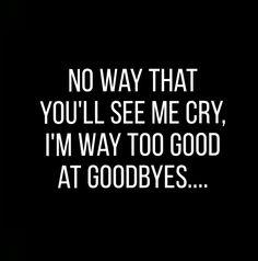 Sam smith, Too good at goodbyes.....