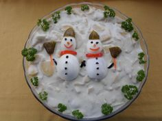 13 bombajó majonézes saláta karácsonyra | Mindmegette.hu Salad Design, Food Design, Best Party Food, Food Decoration, Christmas Appetizers, Christmas Cooking, I Foods, Food Art, Food And Drink