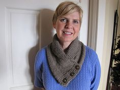 A cozy, button-up cowl that will keep you fashionably warm all through the colder months. Knit up in chunky alpaca yarn, this is sure to be your favorite luxurious accessory. The cowl looks great over a long sleeve top, or as a splash of color under your winter coat. It also makes for a great quick-to-knit gift!