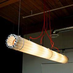 Подвесная лампа Round Tube  www.steelandwoodshop.ru