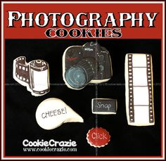 CookieCrazie: Photography Cookies