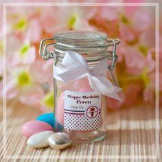 Silindir şeklinde, vakum kapaklı mini şeker kavanozları bir harika! Sadece tijubiju.com'da!