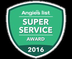 We at Klaus Roofing are so proud to have earned Angie's List 2016 Super Service Award. Klaus Roofing has earned the home service industry's coveted Angie's List Super Service Award, reflecting an exemplary year of customer service to members of the local services marketplace and consumer review site in 2016. Yay us! www.klausroofing.com