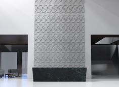 Introducing Ecoustic Crescent acoustic wall tiles, designed by design legends Adam Goodrum + Patryk Koca. These versatile three dimensional tiles create the most beautiful defined formations whilst providing superior acoustic absorption. Acoustic Wall, Acoustic Panels, Tile Design, Three Dimensional, Wall Tiles, Most Beautiful, Legends, Lounge, Elegant