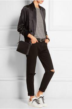 Isabel Marant|Étoile Bart leather sneakers|NET-A-PORTER.COM