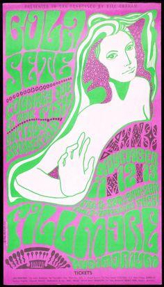 Wes Wilson poster designer