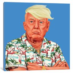 Found it at AllModern - Donald Trump Graphic Art on Wrapped Canvas