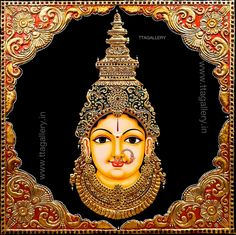 Mysore Painting, Kerala Mural Painting, Tanjore Painting, Indian Art Paintings, Indian Folk Art, Ganesh Photo, Krishna Art, Sketch Inspiration, Painting Inspiration