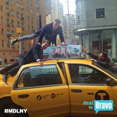 You could say our boys Luis D. Ortiz, Ryan Serhant, and Fredrik Eklund are a little excited about the new Season of #MDLNY. Tune in tonight at 9/8c!