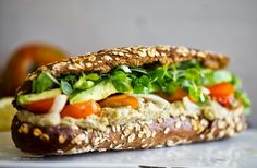 Vegetarian Sandwiches Worth Writing Home About