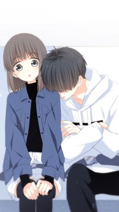 anime too,because when i woke up i saw my crush that we slept peacefully and oue position is really shock because my head is in his shoulder and his head is in my ear and his legs is in my top of my legs and it really look sweet. Kawaii Anime, Anime Cupples, Anime Couples Drawings, Anime Couples Manga, Manga Romance, Romance Books, Bts Art, Cute Anime Coupes, Anime Lindo