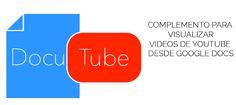 Cómo ver vídeos de YouTube en documentos de texto de Google   Innovación Educativa con tecnología