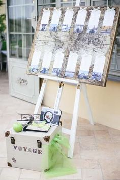 Tableau de Mariage! The voyage of life begins! #wedding #green #apples #country #shabbychic #bologna #emiliaromagna