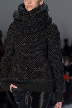 Cozy Sweater by Akris Fall 2013 -