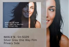 "Show details for SOLYX: SX-SG09 SILVER / GREY One Way. 60"" Wide"
