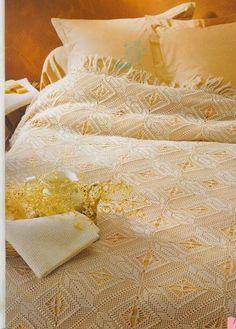 Crochet: Bedspread n