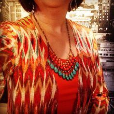 Sunset necklace by #premierdesigns