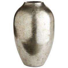 Antiqued Patina Vase - Short
