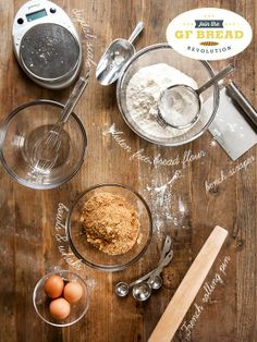 How To Get Ready To Make The Best Gluten Free Bread Ever!