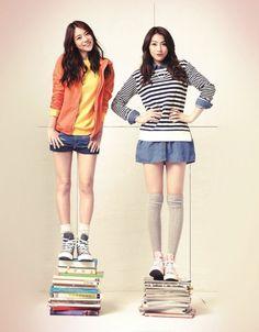 Kara SeungYeon and JiYoung