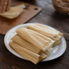 Learn how to make pork tamales and you'll be set for life.