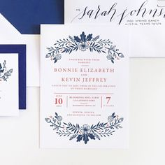 Audrey Collection - Wedding Invitations (Pack of 25)