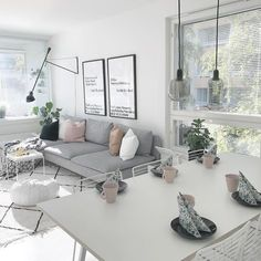 Home Decor - living room. Home Living Room, Living Room Decor, Söderhamn Sofa, Interior Design Living Room Warm, Home And Deco, Easy Home Decor, Living Room Inspiration, Loft, Decoration
