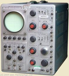 JONZ Old Test Equipment Page