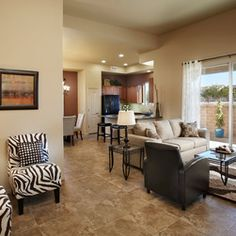 open kitchen / living room / dining room floor plan with ...