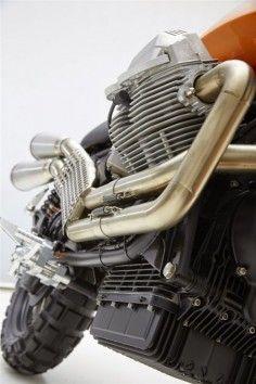 Racing Cafè: Moto Guzzi Scrambler 1100 by Doc Jensen Guzzi Moto Guzzi Scrambler, Guzzi V7, Scrambler Motorcycle, Racing Motorcycles, Motorcycle Design, Motorcycle Parts, Retro Motorcycle, Motorcycle News, Ducati