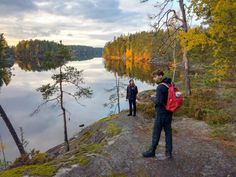 Guided tour in Nuuksio National Park in Espoo and Vihti, Finland, and to other best nature places for day trip from Helsinki. I know the best trails and places. Helsinki, Tour Guide, Amazing Nature, Day Trip, Finland, Trail, National Parks, Bucket, Hiking