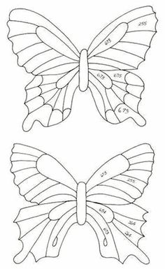 Butterfly Line Drawing, Butterfly Outline, Butterfly Coloring Page, Butterfly Template, Butterfly Pattern, Plastic Bottle Flowers, Plastic Bottle Crafts, Recycle Plastic Bottles, Butterfly Decorations